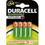 Duracell Recharge Plus HR06 Nickel-Metall-Hydrid AA Mignon Akku 1300