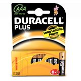Duracell Plus Power LR03 Alkaline AAA Micro Batterie 1.5 V 8er Pack