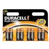 Duracell Plus Power LR6 Alkaline AA Mignon Batterie 1.5 V 8er Pack