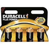 Duracell Plus Power LR14 Alkaline C Baby Batterie 1.5 V 4er Pack