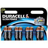 Duracell Ultra Power LR6 Alkaline AA Mignon Batterie 1.5 V 8er Pack