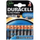 Duracell Ultra Power LR03 Alkaline AAA Micro Batterie 1.5 V 8er Pack