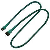 Nanoxia 60 cm grünes Verlängerungskabel für 3-Pin Molex (NX3PV60G)