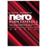 Nero Burn Express 2 32/64 Bit Deutsch Brennprogramm Vollversion PC (DVD)