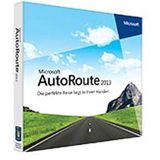 Microsoft AutoRoute Euro GPS 2013 32bit DV