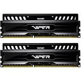 16GB Patriot Viper 3 Series Black Mamba DDR3-1600 DIMM CL10 Dual Kit
