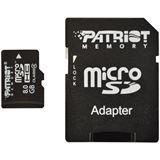 8 GB Patriot Signature Serie microSDHC Class 4 Bulk inkl. Adapter auf