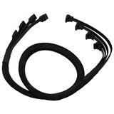 Nanoxia schwarzes 4-fach Kabel 85cm für SATA 3.0 (NXS6GSC)
