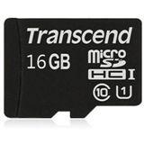 16 GB Transcend Premium UHS-I microSDHC Class 10 Bulk inkl. Adapter auf SD