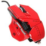Mad Catz Cyborg R.A.T 5 Gaming Mouse USB rot (kabelgebunden)