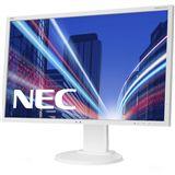 """22"""" (55,88cm) NEC MultiSync E223W Weiß 1680x1050 1xVGA /"""