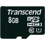 8 GB Transcend UHS-I microSDHC Class 10 Bulk