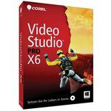 Corel VideoStudio Pro X6 32/64 Bit Englisch Videosoftware Vollversion