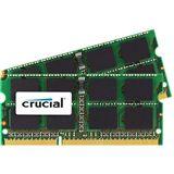 16GB Crucial Memory for Mac DDR3L-1066 SO-DIMM CL9 Dual Kit