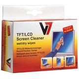 V7 Laptop/Netbook/Tablet/Monitore/portable Geräte Reinigungstuch 10 Stück (VCL1532)