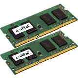 8GB Crucial CT2C4G3S160BMCEU DDR3-1600 SO-DIMM CL11 Dual Kit