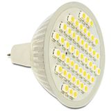 Delock LED Leuchtmittel MR16 48x SMD Warmweiß GU5.3 A