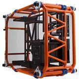 IN WIN D-Frame Midi Tower ohne Netzteil orange