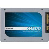 "120GB Crucial M500 2.5"" (6.4cm) SATA 6Gb/s MLC (CT120M500SSD1)"