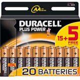 Duracell Batterie AA Plus Power 15+5
