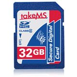 32 GB takeMS Flash SDHC Class 6 Retail