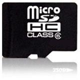 16 GB takeMS microSDHC Class 4 Retail