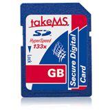 2 GB takeMS 133x SD Class 10 Retail