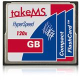 8 GB takeMS HyperSpeed Compact Flash TypI 120x Retail