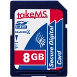 8 GB takeMS 88629 SDHC Class 4 Retail