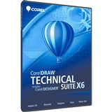 Corel CorelDraw Designer Technical Suite X6 32/64 Bit Multilingual Grafik EDU-Lizenz PC (DVD)