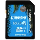 16 GB Kingston UHS-I SDHC Class 10 Retail