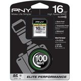 16 GB PNY Elite Performance SDHC Class 10 Retail