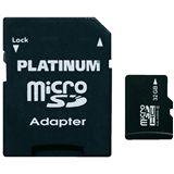 32 GB Platinum microSDHC Class 4 Retail inkl. Adapter