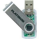 4 GB Platinum HighSpeed TWS silber USB 2.0