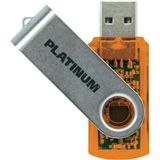 4 GB Platinum High Speed TWS orange USB 2.0