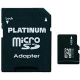 4 GB Platinum BestMedia microSDHC Class 4 Bulk inkl. Adapter