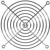 Cooltek Lüftergitter für 120mm Lüfter silber (Gitter