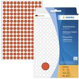 Herma 2212 rot rund Vielzwecketiketten 0.8x0.8 cm (32 Blatt (5632
