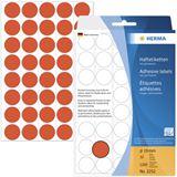Herma 2252 rot rund Vielzwecketiketten 1.9x1.9 cm (32 Blatt (1280 Etiketten))