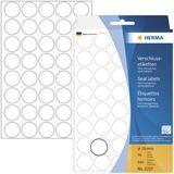 Herma 2257 transparent extrem haftend Verschlussetiketten 1.9x1.9 cm