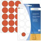 Herma 2272 rot rund Vielzwecketiketten 3.2x3.2 cm (32 Blatt (480