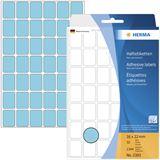 Herma 2383 blau Vielzwecketiketten 1.6x2.2 cm (32 Blatt (1344 Etiketten))