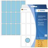 Herma 2413 blau Vielzwecketiketten 2x5 cm (32 Blatt (480 Etiketten))