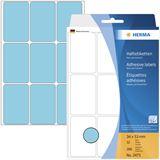 Herma 2473 blau Vielzwecketiketten 3.4x5.3 cm (32 Blatt (288