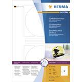 Herma 4460 maxi CD-Etiketten 1x1.6 cm (100 Blatt (200 Etiketten))