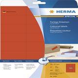 Herma 4467 rot Universal-Etiketten 7.0x3.7 cm (20 Blatt (480