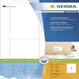 Herma 4472 Premium Adressetiketten 7.87x13.97 cm (100 Blatt (400
