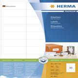 Herma 4612 Premium Universal-Etiketten 7x2.97 cm (200 Blatt (6000