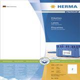 Herma 4658 Premium Universal-Etiketten 10.5x29.7 cm (100 Blatt (200
