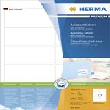 Herma 4667 Premium Adressetiketten 9.6x5.08 cm (100 Blatt (1000